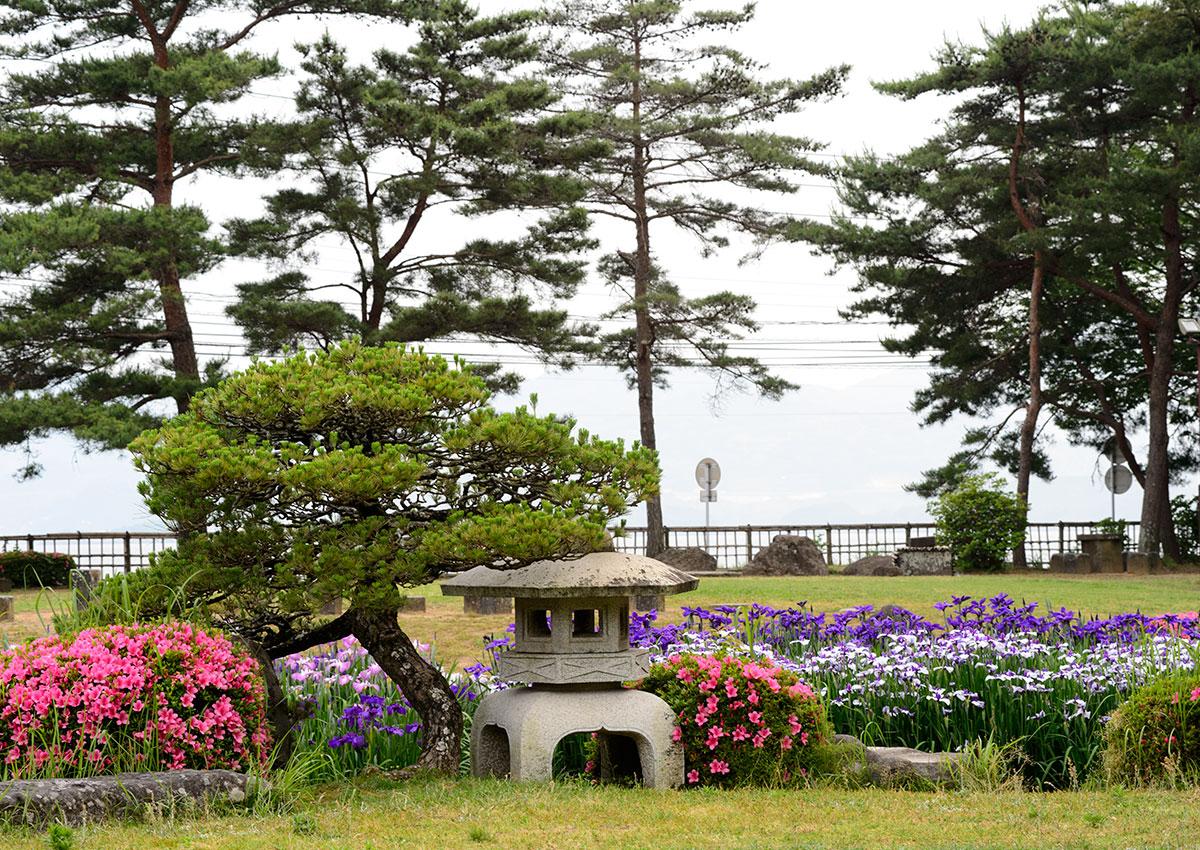 大村公園の庭園