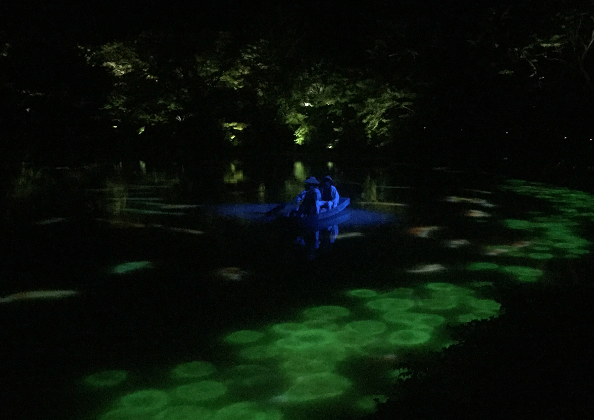 御船山楽園チームラボ作品2